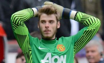 Manchester United's David de Gea selected in Spain warm-up squad