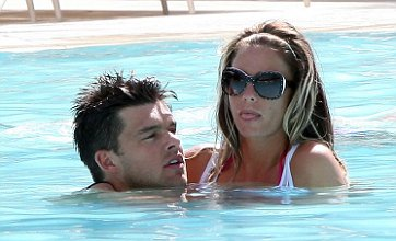 Katie Price and Leandro Penna celebrate engagement in Las Vegas