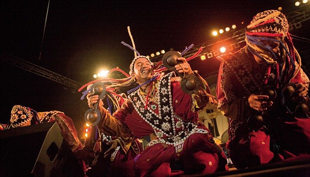 The power of Gnawa: A late-night concert on the Bastion looking over Essaouira