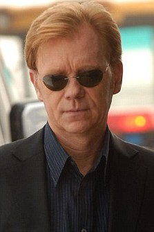 Televsion programme, 'CSI:Miami' David Caruso