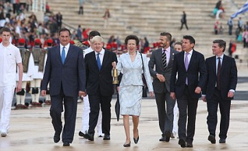 Olympic flame due to arrive in UK, before travelling on 8,000 mile relay