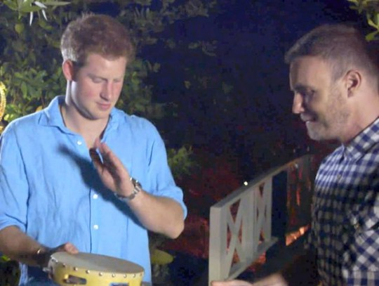 Prince Harry, Sing, Gary Barlow, Diamond Jubilee