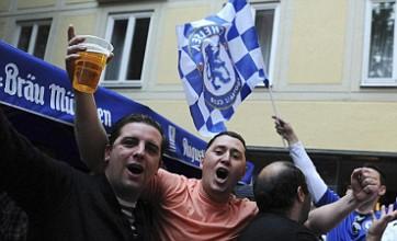 Chelsea fans gather in Munich ahead of Champions League final