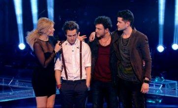 Toni, Cassius, Aleks and David crash out of The Voice UK