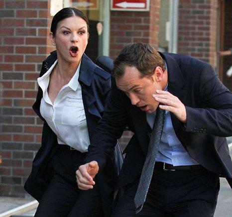 Catherine Zeta Jones and Jude Law