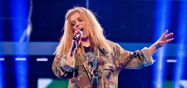 becky hill, the voice uk, seven nation army