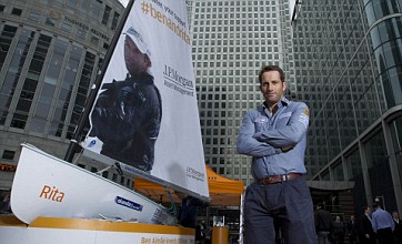 Ben Ainslie: I felt proud to be a part of Olympic torch relay