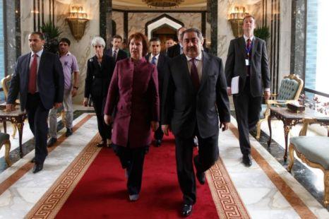 Catherine Ashton, Hoshyar Zebari, Baghdad, Iran, Iraq