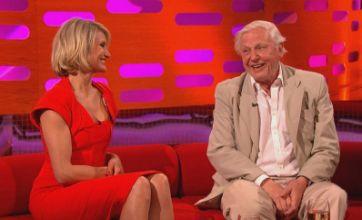 Cameron Diaz flirts with Sir David Attenborough on Graham Norton Show