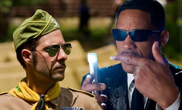 Men In Black 3 v Moonrise Kingdom: Film Face Off
