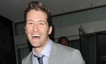 Matthew Morrison given boob-shaped cupcakes by obsessed fan