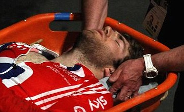BMX star Liam Phillips's Olympic hopes in doubt after collarbone break