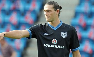 Andy Carroll handed no.9 shirt in England's Euro 2012 squad list