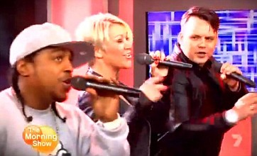 S Club 7 hint at reunion as members perform on Australian TV