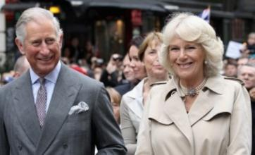 Prince Charles and Camilla drop in on Jubilee street party in Piccadilly