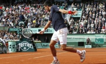 Roger Federer and Novak Djokovic overcome scares to reach French Open quarter-finals