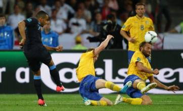 Theo Walcott inspires England to battling win over Sweden