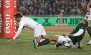 Toby Flood sparked England's fightback in South Africa (Getty Images)