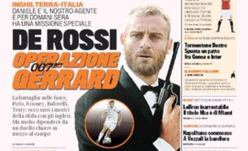 Daniele De Rossi cast as James Bond for Euro 2012's Operation Gerrard