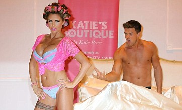 Katie Price and Leandro Penna strip off in public: Caption competition