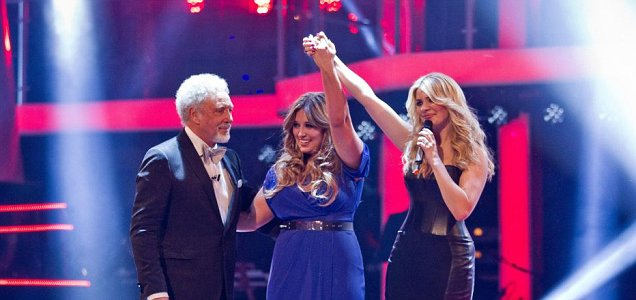 Holly Willoughby, Leanne Mitchell, The Voice UK 2012 champion