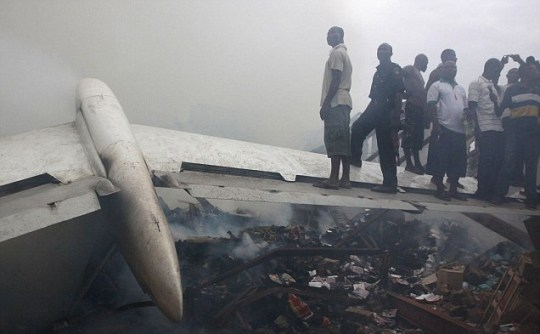 Plane crash Lagos Nigeria