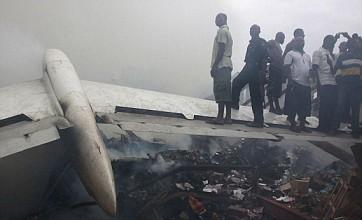 Nigeria declares three days of mourning after Lagos plane crash