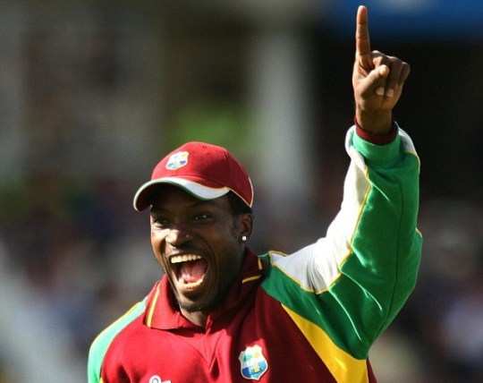 Cricket one day West Indies England Chris Gayle