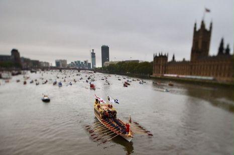 Thames pageant flotilla, diamond jubilee