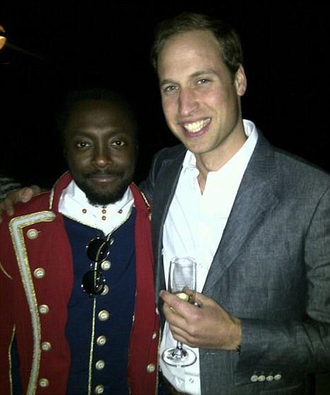 Duke of Cambridge and Will.i.am