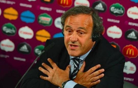 Michel Platini, Euro 2012