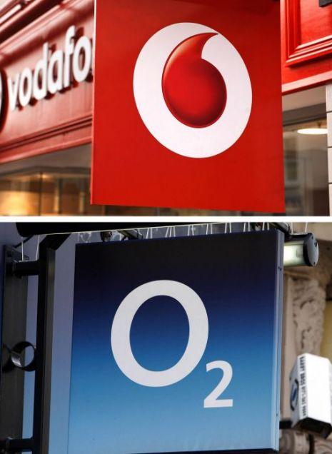 Vodafone and O2, 4G.