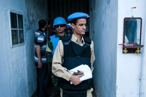 Syria, UN observers