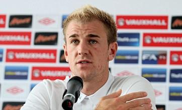 Joe Hart pledges to be England's Euro 2012 rock