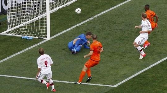 Euro 2012 Holland Denmark football