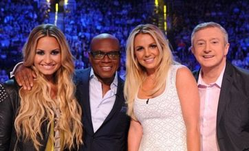 Simon Cowell 'fears for Britney Spears as she storms off X Factor USA again'