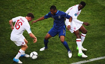 Patrice Evra bemoans England's 'Chelsea tactics' in France Euro 2012 draw