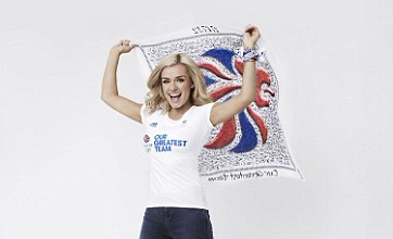 Katherine Jenkins, Bear Grylls and Davina McCall take Olympic cheerleader roles