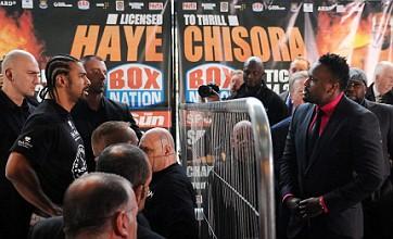 David Haye and Dereck Chisora still set on defying British boxing board