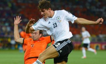 Mario Gomez gives Holland harsh lesson in cold German efficiency