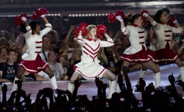 Madonna's 200-strong entourage revealed as MDNA rider is leaked