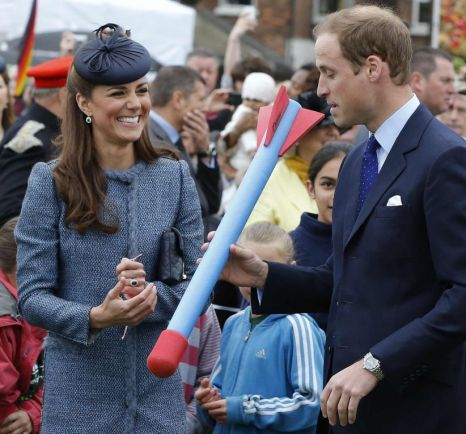 Prince William, javelin, Nottingham, Kate Middleton
