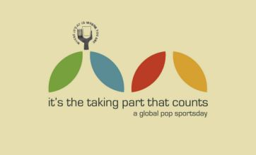 It's The Taking Part That Counts is a charming musical Olympic tribute