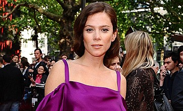 Anna Friel leads the fashion flops in purple frock at Spider-Man premiere