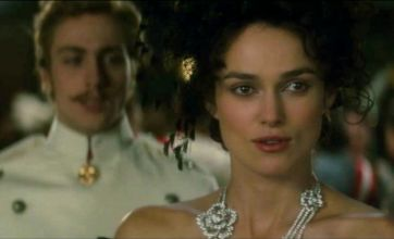 Keira Knightley and Aaron Johnson in steamy first trailer for Anna Karenina