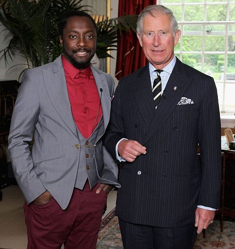 Will.i.am, Prince Charles