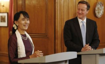 Aung San Suu Kyi calls on UK support to continue Burma transformation