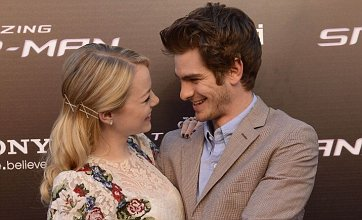 Emma Stone and Andrew Garfield get intimate on red carpet: Caption comp