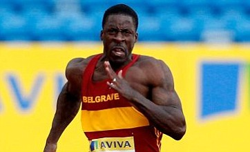 Dwain Chambers wins heat at British trials but fails to reach Olympic mark