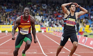 Adam Gemili qualifies for London 2012 as Dwain Chambers apologises for swearing after 100m win